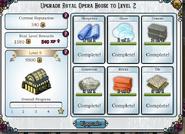 Opera house upgrade to 1