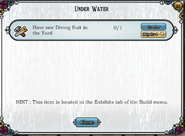 Quest Under Water-Tasks