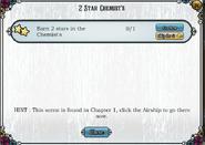 Quest 2 star chemists-Tasks