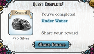 Quest Under Water-Rewards
