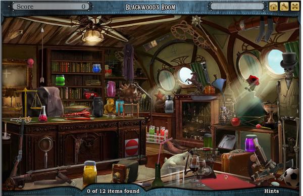 Scene Blackwood's Room-Screenshot