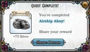 Quest Airship Ahoy-Rewards