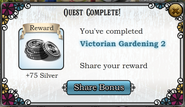 Quest Victorian Gardening 2-Rewards