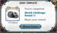 Quest Sleuth's Challenge Round 1-Rewards