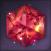 Flawless Sparkling Hongmoon Hexagonal Ruby