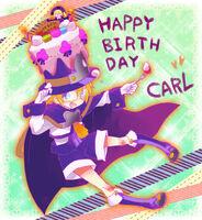 Carl Clover (Birthday Illustration, 2011, 04)