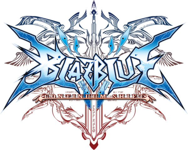 File:BlazBlue Continuum Shift (Logo).png