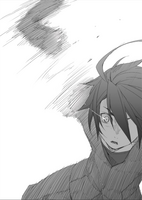 BlazBlue Bloodedge Experience Part 1 (Black and white illustration, 2)