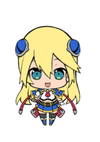 Noel Vermillion (Chibi, Limited Edition Strap Artwork)