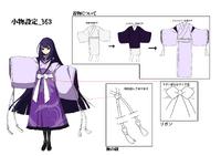 Mei Amanohokosaka (Concept Artwork, 9)
