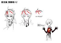 Tōya Kagari (Concept Artwork, 7)