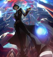 Hazama (Centralfiction, arcade mode illustration, 4)
