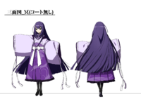 Mei Amanohokosaka (Concept Artwork, 3)
