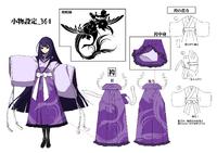 Mei Amanohokosaka (Concept Artwork, 10)