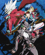BlazBlue Continuum Shift Material Collection (Illustration, 10)