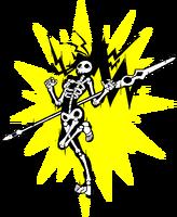 Mai Natsume (Sprite, electrocuted)