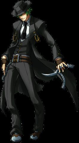 File:Hazama (Continuum Shift, Character Select Artwork).png