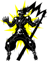 Hakumen (Sprite, electrocuted)
