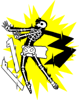 Hibiki Kohaku (Sprite, electrocuted)