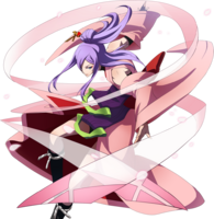 Amane Nishiki (Story Mode Artwork, Pre Battle)