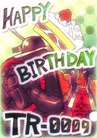 Iron Tager (Birthday Illustration, 2011)