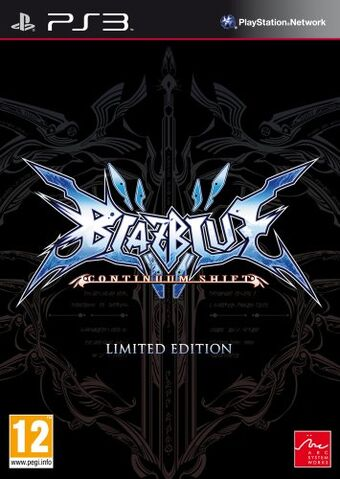 File:BlazBlue Continuum Shift (Cover, Limited Edition).jpg