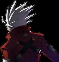Ragna the Bloodedge (Story Mode Artwork, Back)