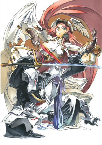 File:BlazBlue Chronophantasma Story Maniacs Material Collection II (Illustration, 13).png