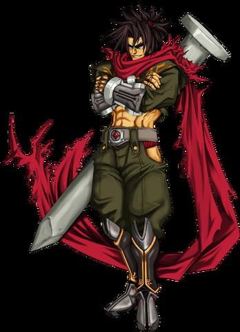 File:Bang Shishigami (Calamity Trigger, Character Select Artwork).png