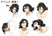 Kazuto Kotetsu (Concept Artwork, 11)