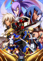 BlazBlue Chronophantasma Story Maniacs Material Collection II (Illustration, 3)