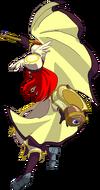 Tsubaki Yayoi (Continuum Shift, Sprite, j.B-B)