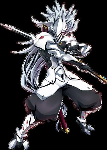 File:Hakumen (Centralfiction, Character Select Artwork).png