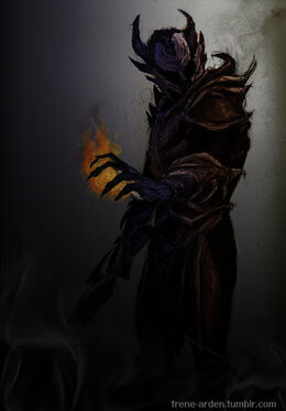 Daedric armor by frene-d4lfaxt