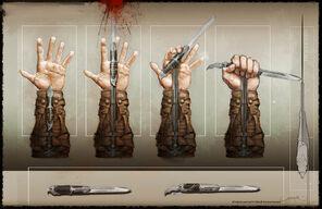 Connor s hidden blades by okmer-d5knq62