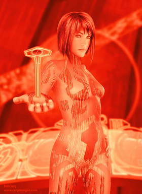 G arb cortana red recolored