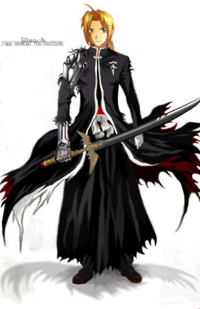 Edward elric soul reaper by karasumesorakami-d3dlzna