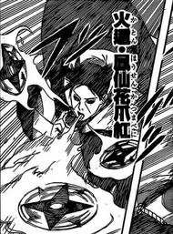 Multiple Flaming Shuriken