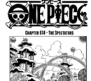 One Piece Chapter 674. The Spectators