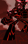 The Lava Monster
