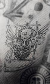 Hourglass tat