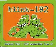 Wasting Time 1996 Australian Tour EP scanblink1