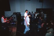 Early Blink-182 show at the Soul Kitchen