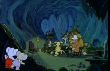 Blinky Bill´s Ghost Cave secret of Ghost Cave