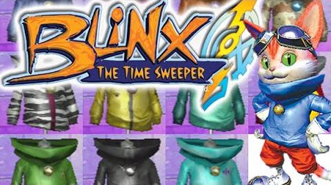 BLiNX The Time Sweeper - All Outfits
