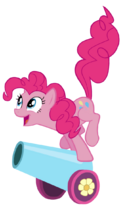 Pinkie pie cannon by slayerendo-d52mage