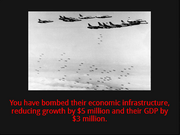 Target economic infrastructure action 1
