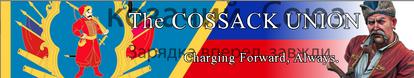 Cossack Union's flag