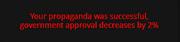 Anti-Government Propaganda 2 action 12%