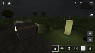 Spotlight Block Targeted Pale Yellow Block